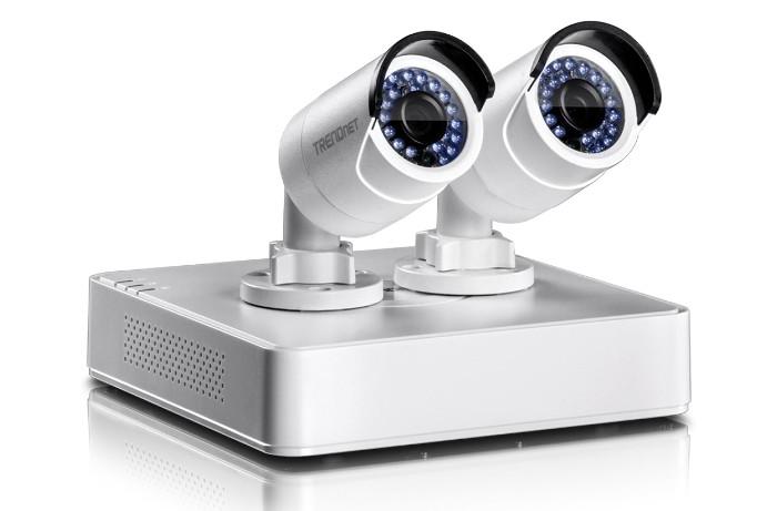 TRENDnet przedstawia zestaw do monitoringu z kamerami i rejestratorem