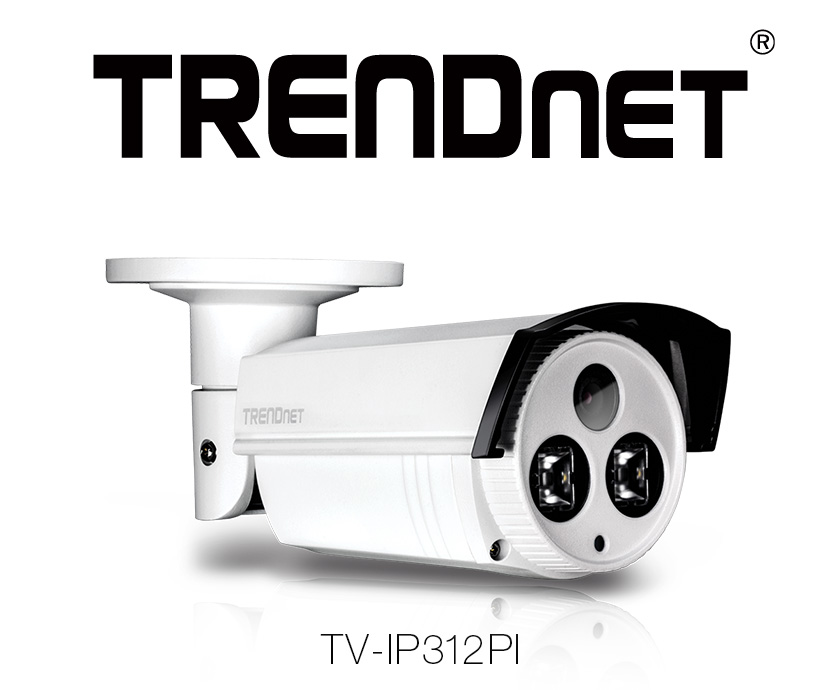 TRENDnet TV-IP312PI – 3-megapikselowa kamera IP z diodami IR do całodobowego monitoringu
