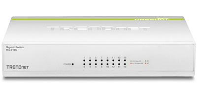 TRENDnet  TEG-S16D – 16-portowy switch z serii GREENnet