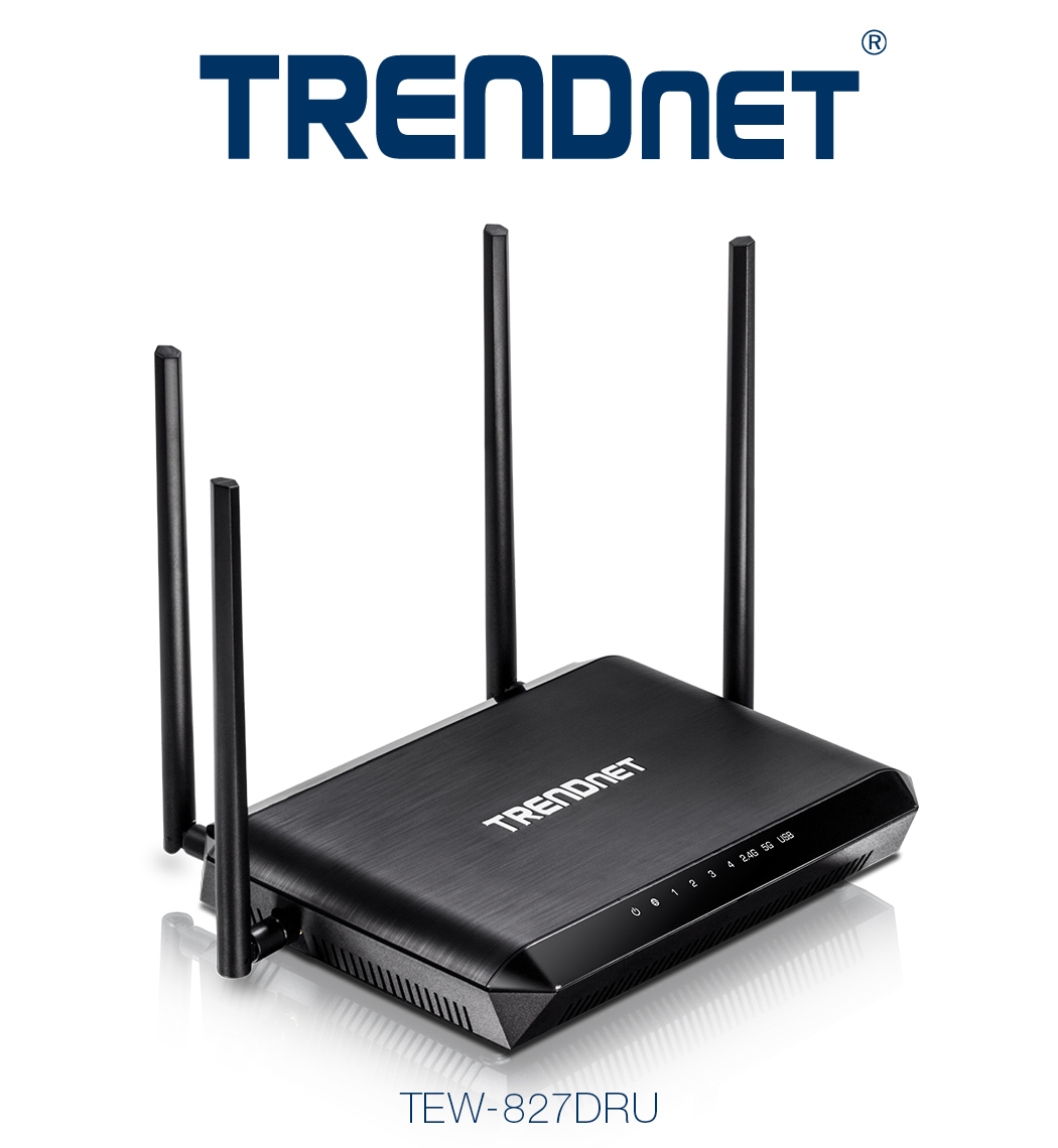 TRENDnet TEW-827DRU – nowy router AC2600 z technologiami StreamBoost i MU-MIMO