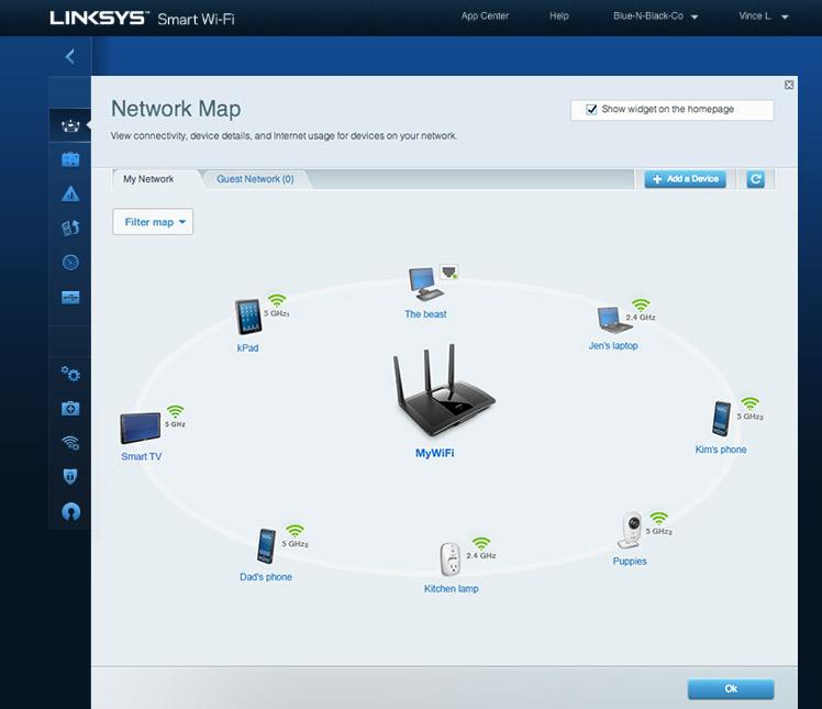 Linksys EA7500 – domowy router Gigabit MU-MIMO