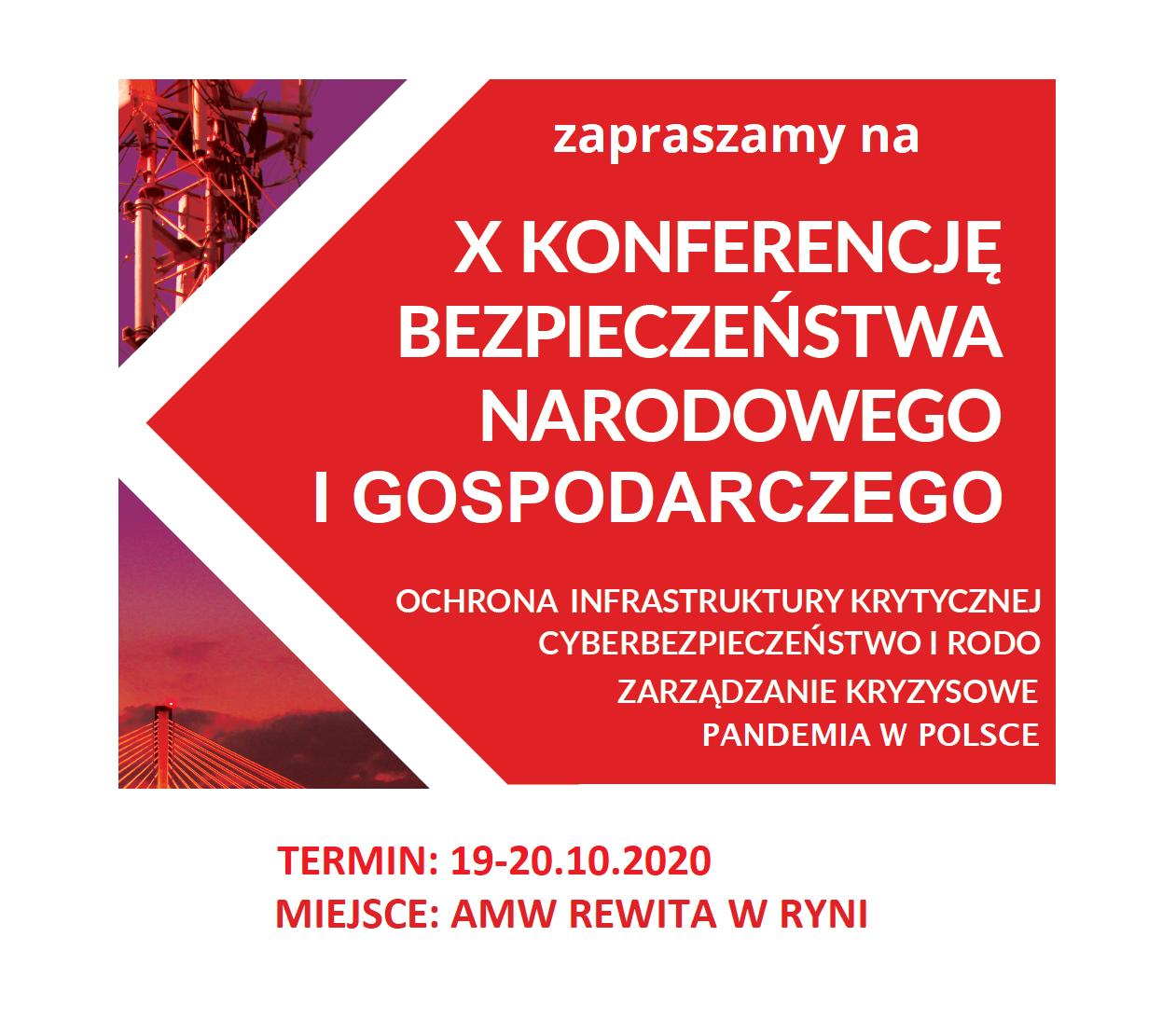 X Konferencja Bezpieczeństwa Narodowego i Gospodarczego