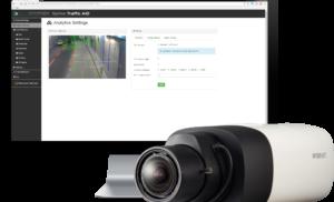 Hanwha Techwin wprowadza Wisenet AID  do monitorowania ruchu drogowego