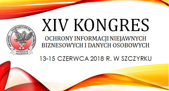 XIV Kongres Ochrony Informacji Niejawnych, Biznesowych i Danych Osobowych