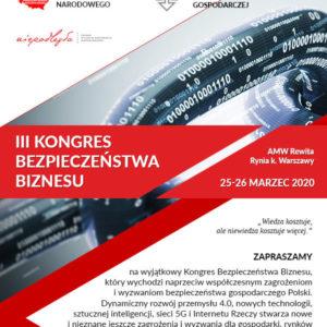 III Kongres Bezpieczeństwa Biznesu
