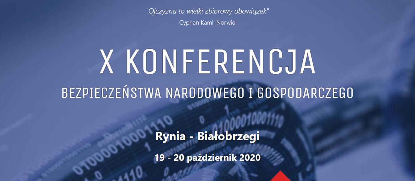 Konferencja Bezpieczeństwa Narodowego i Gospodarczego