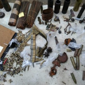 Nielegalny arsenał w Woli Raniżowskiej