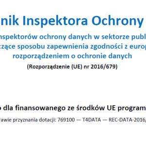 Podręcznik Inspektora Ochrony Danych